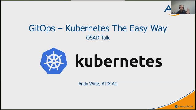Talk: GitOps - Kubernetes the easy way