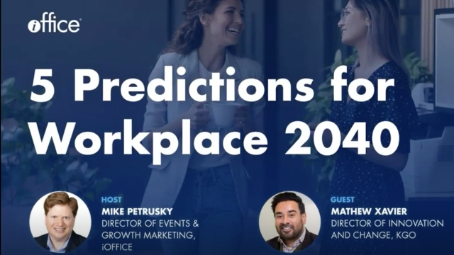 5 Predictions for Workplace 2040