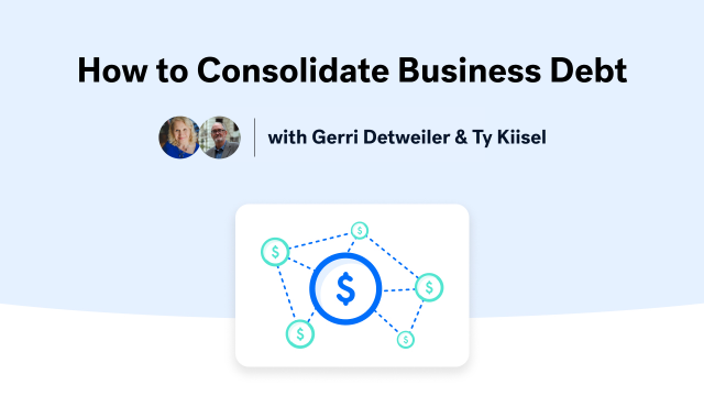 How to Consolidate Business Debt