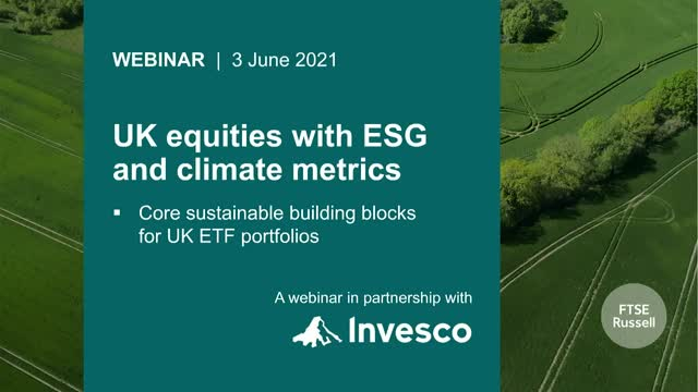 Discover UK equities with ESG and climate metrics