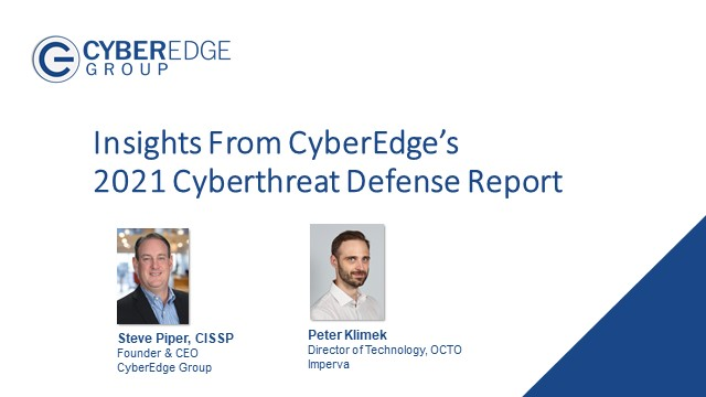 A Record Year for Cyber Attacks: Insights from 2021 Cyberthreat Defense Report