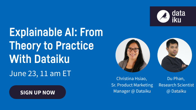 Explainable AI: From Theory to Practice With Dataiku
