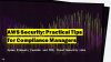 AWS Security: Practical Tips for Compliance Managers