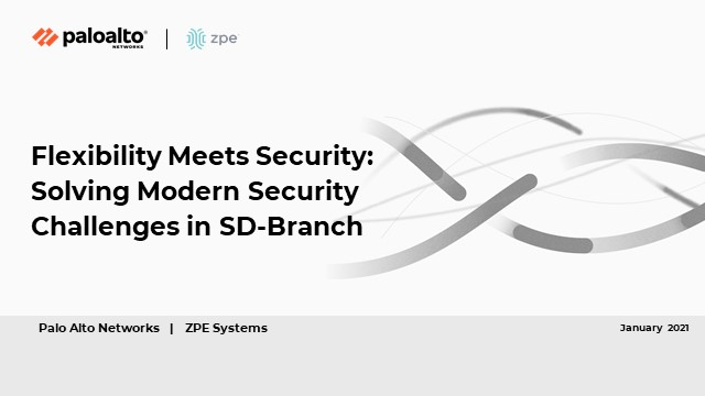 How to Implement a Simple, Secure SD-Branch