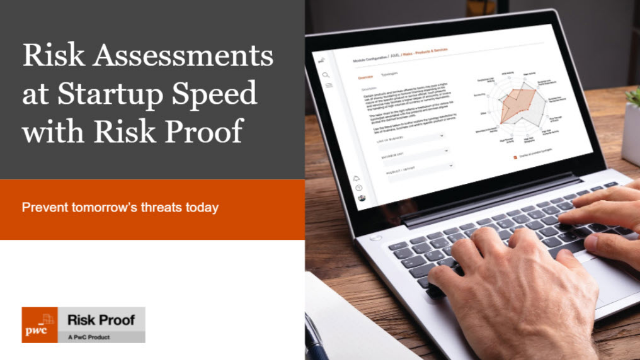 Risk Assessment at Start-up Speed with Risk Proof