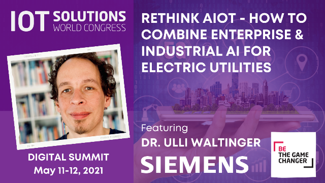 Rethink AIoT - How to Combine Enterprise & Industrial AI for Electric Utilities
