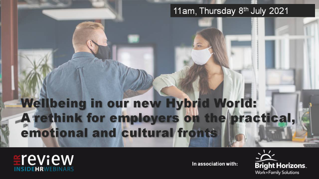 Wellbeing in our new Hybrid World: A rethink for employers