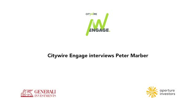 Citywire Engage video interview with Peter Marber
