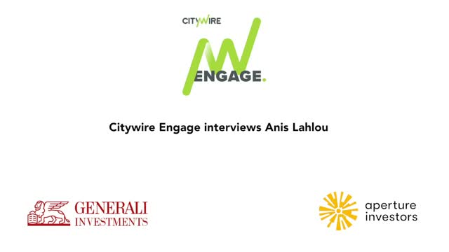 Citywire Engage video interview with Anis Lahlou