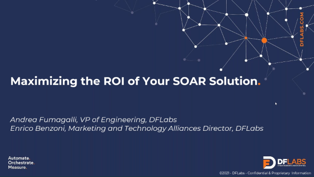 Maximizing the ROI of Your SOAR Solution