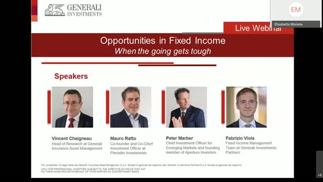 Opportunities in Fixed Income   When the going gets tough