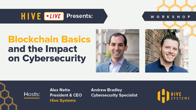 Blockchain basics and the impact on cybersecurity
