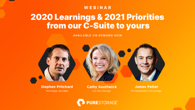 2020 learnings & 2021 Priorities from our C-Suite to yours