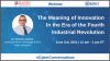 The Meaning of Innovation In the Era of the Fourth Industrial Revolution