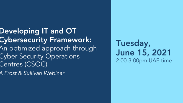 Developing IT and OT Cybersecurity Framework