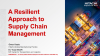 A Resilient Approach to Supply Chain Management