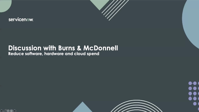 Burns & McDonnell saves $5M with ServiceNow Software Asset Management