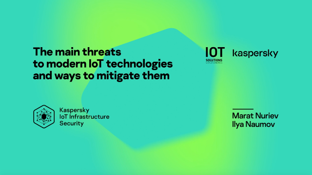 The Main Threats to Modern IOT Technologies and Ways to Mitigate Them