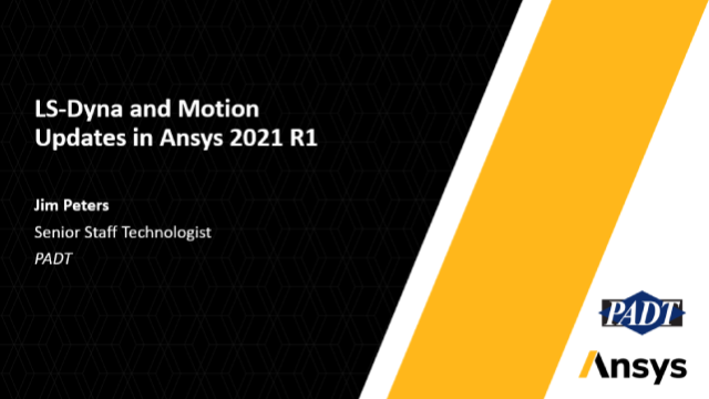 LS-DYNA & Motion Updates in Ansys 2021 R1