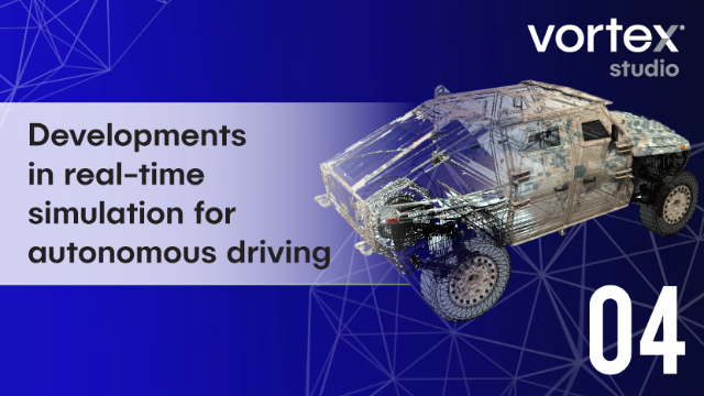Developments in real-time simulation for autonomous driving