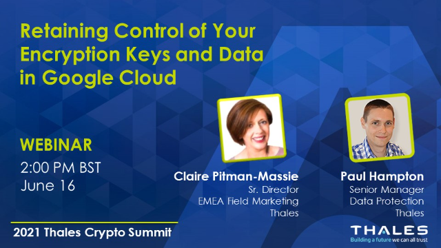 Retaining Control of Your Encryption Keys and Data in Google Cloud