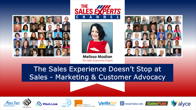 The Sales Experience Doesn't Stop at Sales - Marketing & Customer Advocacy
