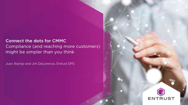 Connecting the dots for CMMC