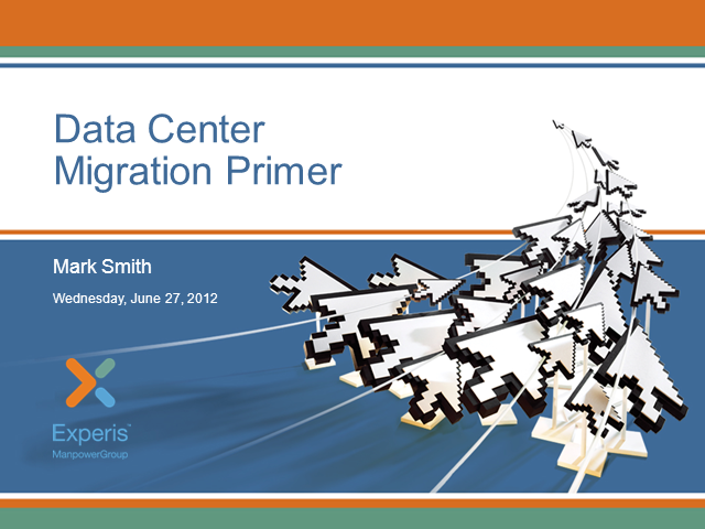 A Data Center Migration Primer