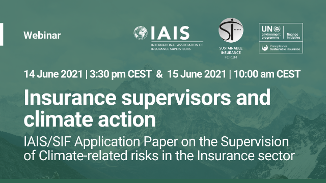 Insurance Supervisors and Climate Action