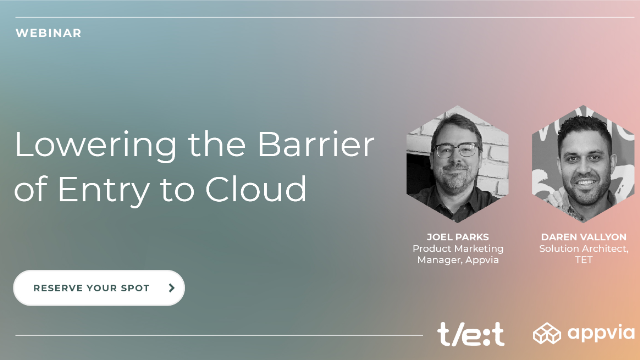 Lowering the Barrier of Entry for Cloud