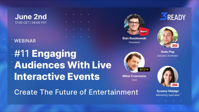 #11 Engaging Audiences with Live Interactive Events