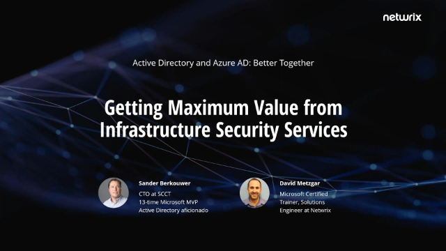 Active Directory and Azure AD: Better Together, Pt. 1