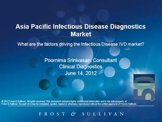 Discover Asia Pacific Infectious Disease Diagnostics Market Trends