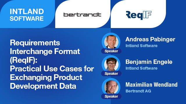 ReqIF: Practical Use Cases for Exchanging Product Development Data