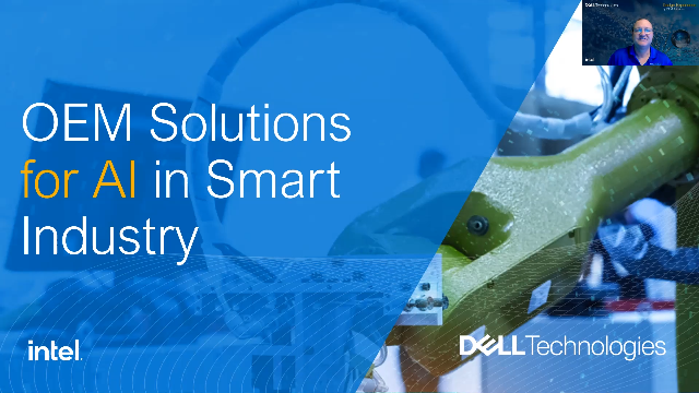 OEM Solutions for AI in Smart Industry