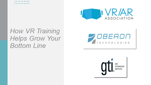 How Virtual Reality (VR) Training Helps Grow Your Bottom Line