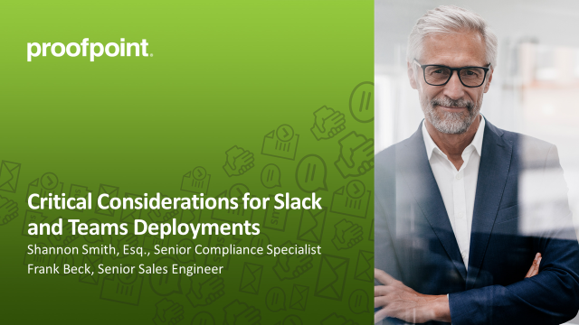 Critical Considerations for Slack and Teams Initiatives
