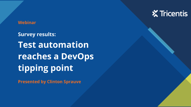 Survey results: Test automation reaches a DevOps tipping point