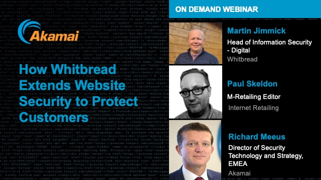 How Whitbread Extends Website Security to Protect Customers