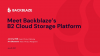 Store and Use Your Data with Astonishing Ease: B2 Cloud Storage Platform