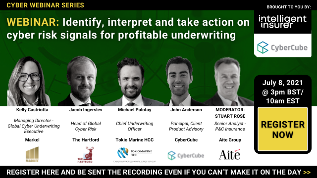Identify and Take Action on Cyber Risk Signals for Profitable Underwriting