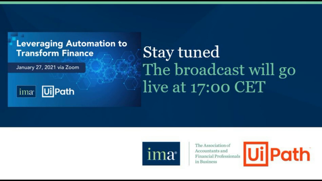 Leveraging Automation to Transform Finance