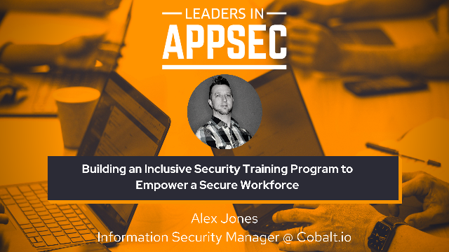 Building an Inclusive Security Training Program to Empower a Secure Workforce