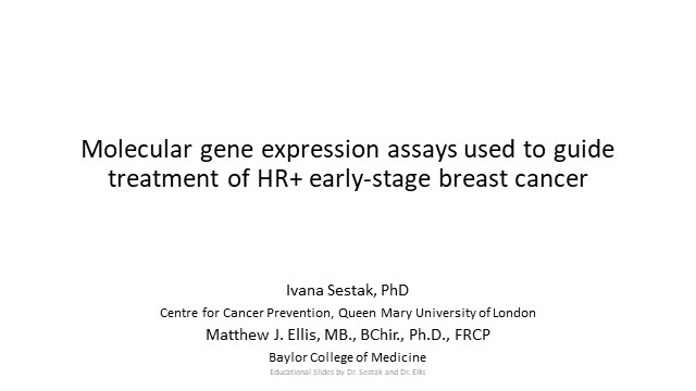 The Treatment of HR+ Early-Stage Breast Cancer