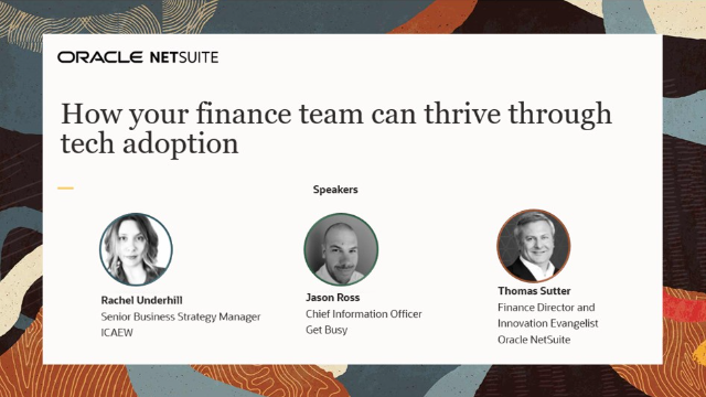 How your finance team can thrive through tech adoption