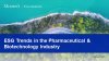 ESG Trends in the Pharmaceutical & Biotechnology Industry