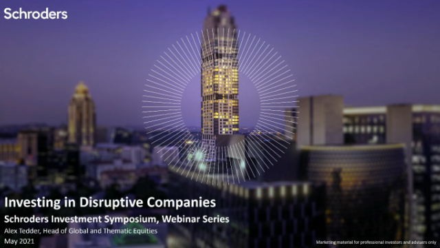 Investing in Disruptive Companies