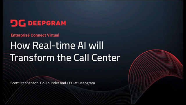 How Real-Time AI will Transform the Call Center