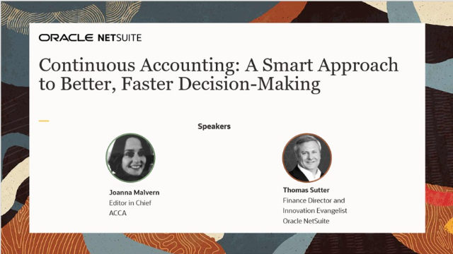 Continuous Accounting: A Smart Approach to Better, Faster Decision-Making