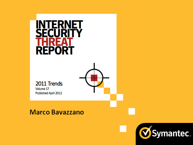 Internet Security Threat Report by Symantec in Italian